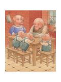 Pigs, 2005 Giclee Print by Kestutis Kasparavicius