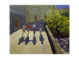 Children Running, Lesbos, 1999 Giclee Print by Andrew Macara