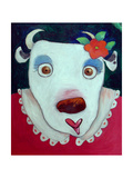 Silly Cow Giclee Print by Maylee Christie