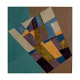 Field Tapestry, 2003 Giclee Print by George Dannatt