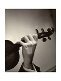 Yehudi Menuhin's Hand Photographic Print by Lotte Meitner-Graf