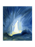 Even in the Darkness of Out Sufferings Jesus Is Close to Us, 1994 Wydruk giclee autor Elizabeth Wang