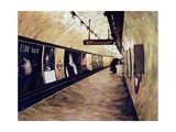 All Trains Go to King's Cross St Pancras, 2004 Giclee Print by Ellen Golla