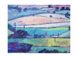 Farm Giclee Print by Paul Powis
