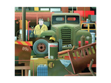 Scrap Merchant, 1983 Giclee Print by Reg Cartwright