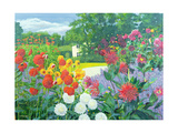 Garden and House Giclee Print by William Ireland