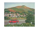 From the Train, South Wales Giclee Print by Anna Teasdale