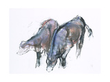 Calves, 2006 Giclee Print by Mark Adlington