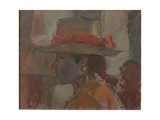 The Straw Hat, 2006 Giclee Print by Pat Maclaurin
