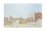 Djenne (Mali) Grande Mosquee, Monday, 2000 Giclee Print by Charlie Millar