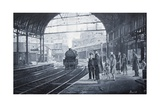 Waiting for the Train, 2008 Giclee Print by Kevin Parrish