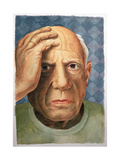 Picasso (1881-1973) Giclee Print by Trevor Neal