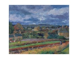 Barbon from the Railway Line - Autumn, 1956 Giclee Print by Stephen Harris