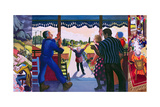 Triptych of the Prodigal Son's Return, 2005 Giclee Print by Dinah Roe Kendall