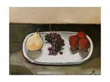 Red Pears, 2005 Giclee Print by Raimonda Kasparaviciene Jatkeviciute