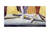 Gamboge Yellow, 2003 Giclee Print by Charlotte Moore