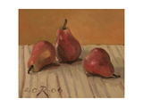 Three Red Pears, 2006 Giclee Print by Raimonda Kasparaviciene Jatkeviciute