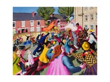 Triumphal Entry, 1997-98 Giclee Print by Dinah Roe Kendall