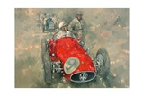 Goodwood 54 Roy Salvadori Giclee Print by Peter Miller