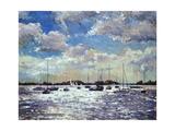 Evening Light, Gulf of Morbihan, 2002 Giclee-trykk av Christopher Glanville