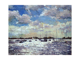 Evening Light, Gulf of Morbihan, 2002 Giclee Print by Christopher Glanville