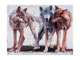 Pack Leaders, 2001 Giclee Print by Mark Adlington