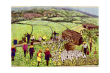 Pastoral, 1992 Giclee Print by Komi Chen
