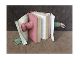 You Cannot Judge a Book... 2004 Giclee Print by Jonathan Wolstenholme