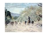Going to the Hills, 2010 Giclee Print by Cruz Jurado Traverso