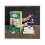 Crime Writer, 2003 Giclee Print by Jonathan Wolstenholme
