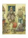 Russian Scene 04, 1994 Giclee Print by Kestutis Kasparavicius