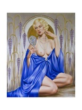 Rhapsody in Blue Giclee Print by Catherine Abel