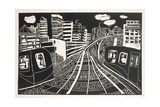 Docklands, 2005-06 Giclee Print by Hilary Rosen