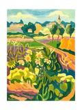 Erpart Legend, 2007 Giclee Print by Marta Martonfi-Benke