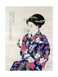 Formal Japanese Portrait, 1994 Giclee Print by Alan Byrne