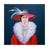 Lady Dowage Giclee Print by John Wright