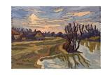 Road into Dusk, 2004 Giclee Print by Marta Martonfi-Benke
