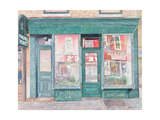 M. Goldberg Glazing, Court St. Brooklyn, New York, 1994 Giclee Print by Anthony Butera