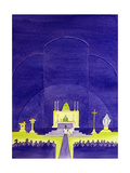 Our Churches are Holy Places Consecrated for Prayer and Worship, 2006 Giclee Print by Elizabeth Wang