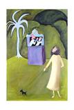 Punch and Judy, 1983 Giclee Print by Celia Washington