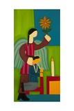 Jose Maria Y Su Angel, 2009 Giclee Print by Cristina Rodriguez