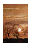 Sunset, Windsor, 2010 Giclee Print by Cruz Jurado Traverso