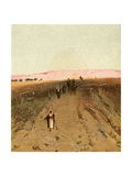 An Eastern Highway Giclee Print by Henry Andrew Harper