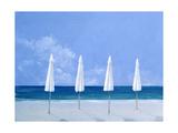 Beach Umbrellas, 2005 Reproduction procédé giclée par Lincoln Seligman