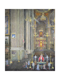 Veneration of the Virgen Del Rosario, the Convent of San Domingo, 2001 Giclee Print by James Reeve