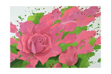 The Rose, in the Festival of Light, 1995 Giclee Print by Myung-Bo Sim