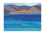 Sea View and Chapel, 2010 Giclee Print by Sarah Gillard