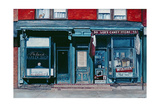 Palace Barber Shop and Lee's Candy Store, Staten Island, New York, 1985 Giclee Print by Anthony Butera