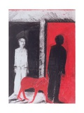 Red Dog, 2004 Giclee Print by Hilary Rosen