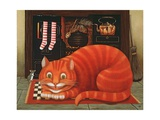 The Cheshire Cat, 1993 Giclee Print by Frances Broomfield